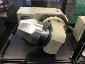 Sankyo RT100 rotary tilt table
